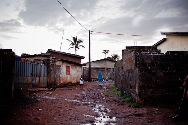"""Two of the main epicenters for the disease are in Nzerekore in Forest Guinea and in Conakry (shown above)."""