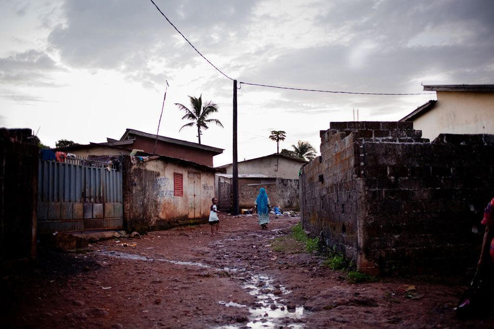 """""""Two of the main epicenters for the disease are in Nzerekore in Forest Guinea and in Conakry (shown above)."""""""