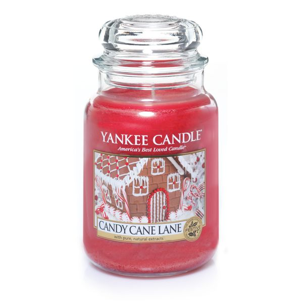 """<strong>Score</strong>: 8.1 <br><strong>What the <a href=""""http://www.yankeecandle.com/product/candy-cane-lane/_/R-1308384"""" ta"""
