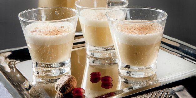 Italian egg and Marsala liqueur is rich and creamy like eggnog, but light and more foamy. Drink it in small glasses. (Bill Hogan/Chicago Tribune/TNS via Getty Images)