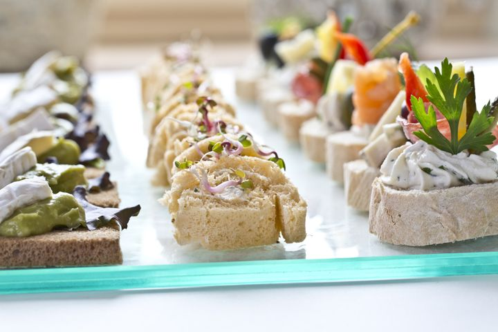 catering snacks  appetizers or...