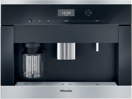 """<a href=""""http://www.mieleusa.com/Product/Details/984"""" target=""""_blank"""">Miele 24"""" CVA 6401 Built-in Coffee System</a>, price va"""