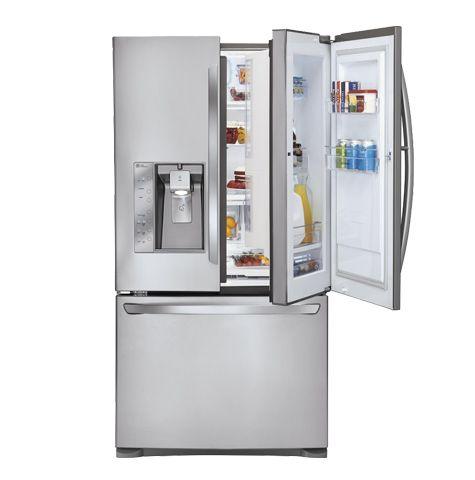 "<a href=""http://www.lg.com/us/refrigerators/lg-LFX31945ST-french-3-door-refrigerator"" target=""_blank"">Super-Capacity 3 Door F"