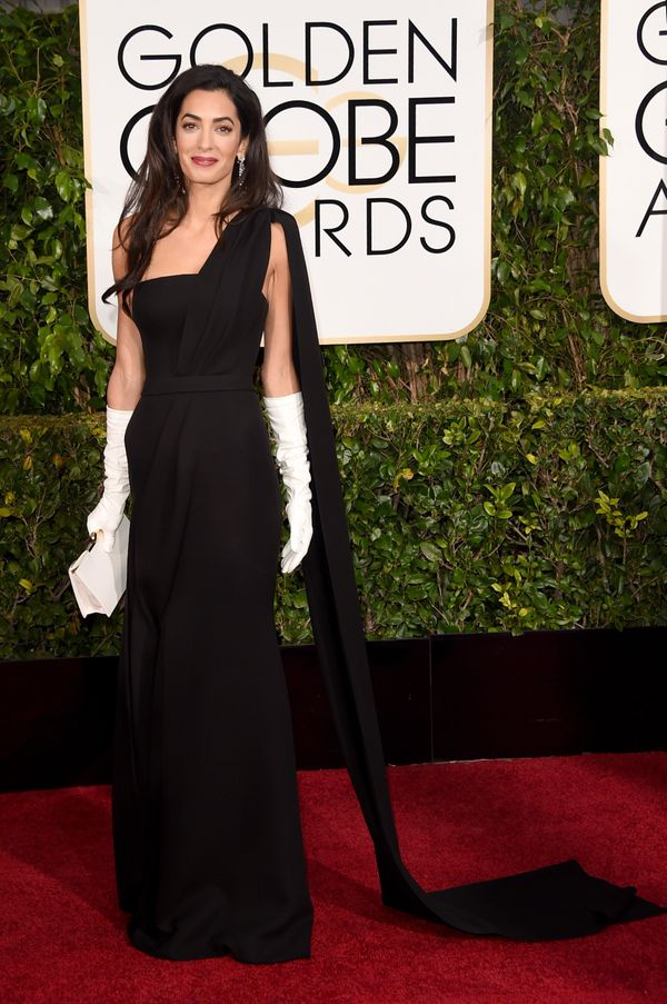 Mrs. Clooney's look was the most anticipated of the night and boy did she deliver. Her one-shouldered, floor-length gown ooze