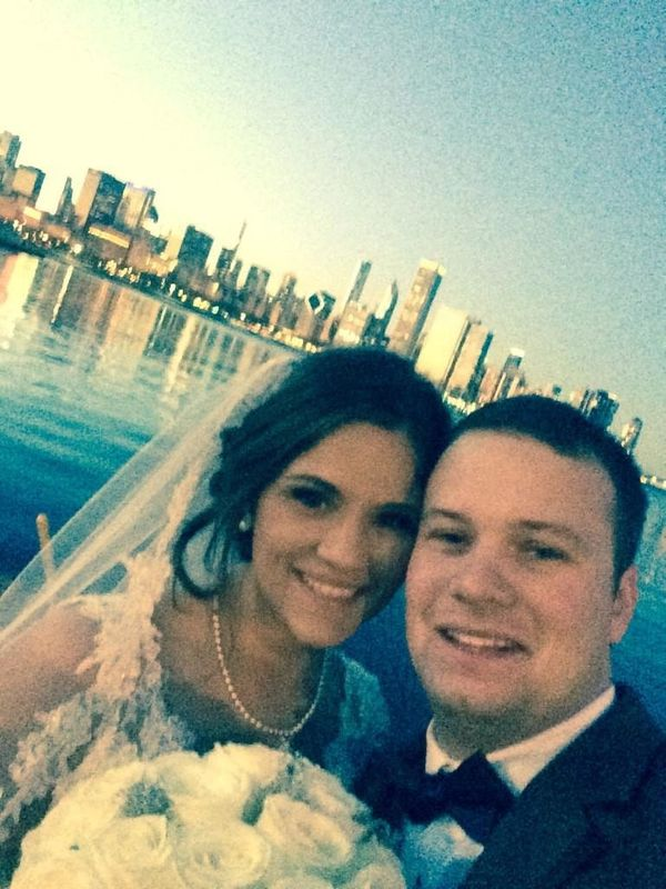 """My Husband Skip and me on the best day of our lives. Married in Chicago!"" - Meesh"