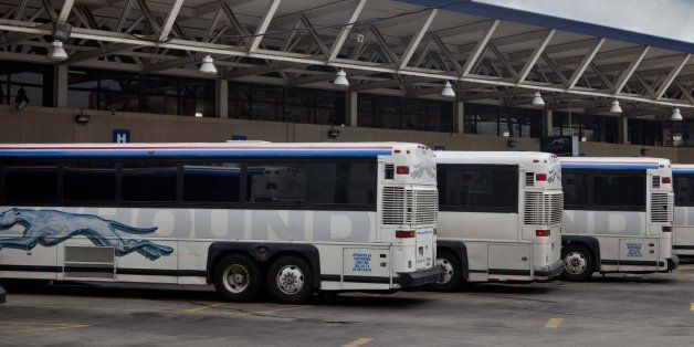WASHINGTON,DC -APRIL 27: Greyhound Bus station, on First St. NE due to be closed and the facilities moved into Union Station,  on April 27, 2011 in Washington,DC.  ( Photo by Jeffrey MacMillan/For Washington Post)