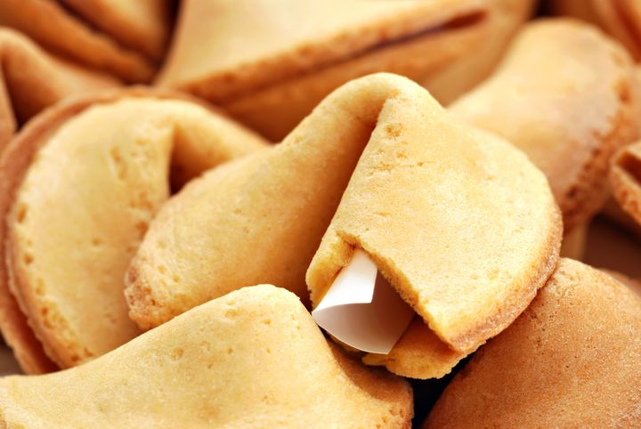 fortune cookie background. ...