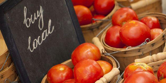 fresh organic food at the local ...