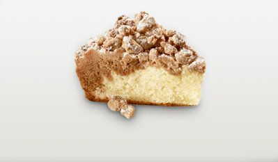 We'd like an injection of that crumb topping and buttery cake, please. Thanks.
