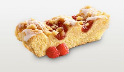 The streusel topping and gooey raspberry (or cherry if you're into that one) is brilliant. This got us through every sad chil
