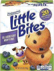 Four mini-muffins in a bag, four mini-muffins IMMEDIATELY in our bellies. And then another bag, or two.