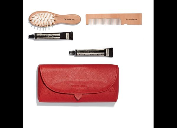 """<strong>See More of the <a href=""""http://www.travelandleisure.com/articles/coolest-airline-amenity-kits/9?xid=PS_huffpo"""">Coole"""