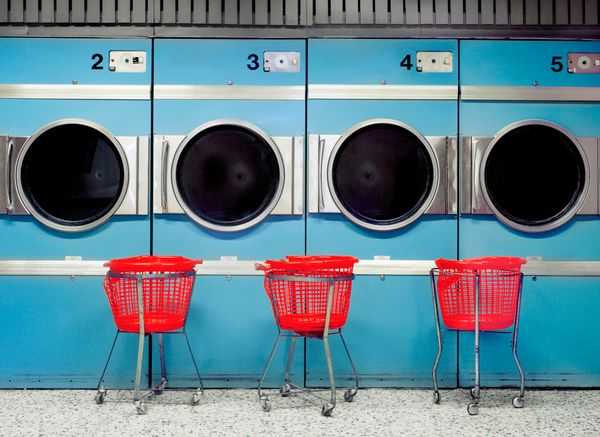 Splash out on the £2 it costs to take them to a launderette. Clothes that are either damp or crispy are not the kind of cloth