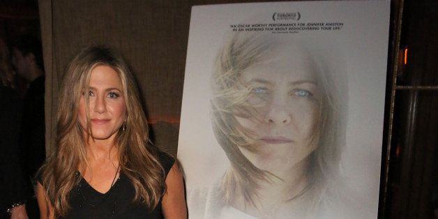 HOLLYWOOD, CA - DECEMBER 05:  Actress Jennifer Aniston attends the CAKE party for Jennifer Aniston hosted by Perrier-Jouet And Cinelou Films at Chateau Marmont's Bar Marmont on December 5, 2014 in Hollywood, California.  (Photo by Ari Perilstein/Getty Images for Cinelou)