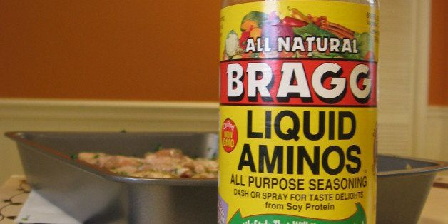 I don't use soy sauce, instead I use Bragg's liquid aminos.