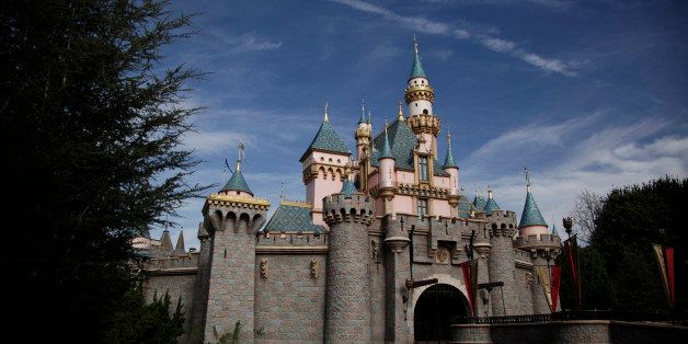 The Sleeping Beauty's Castle is seen at Disneyland, Thursday, Jan. 22, 2015, in Anaheim, Calif. Seventy people have been infected in a measles outbreak that led California public health officials to urge those who haven't been vaccinated against the disease, including children too young to be immunized, should avoid Disney parks where the spread originated. (AP Photo/Jae C. Hong)