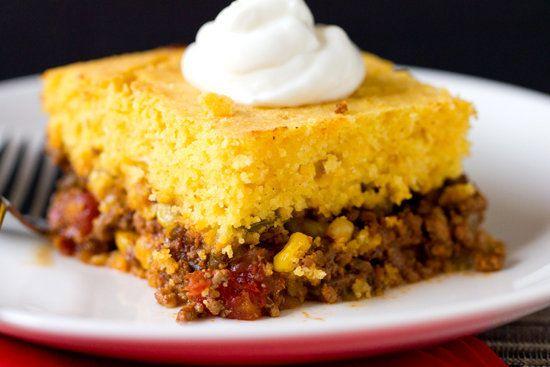"<strong>Get the <a href=""http://www.browneyedbaker.com/tamale-pie-recipe/?utm_source=feedburner&utm_medium=feed&utm_campaign="