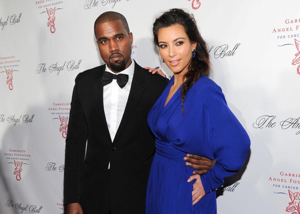 Kim Kardashian and Kanye West's daughter.