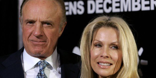 HOLLYWOOD - DECEMBER 13:  Actor James Caan and wife Linda Stokes arrives at the premiere of MGM's 'Rocky Balboa' at the Grauman?s Chinese Theater on December 13, 2006 in Hollywood, California.  (Photo by Frazer Harrison/Getty Images)