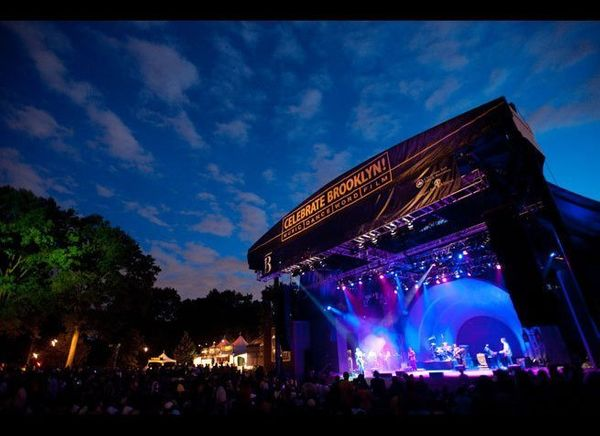<em>Photo Credit: Ryan Muir</em>  Head to Brooklyn on a summer evening to catch a free concert in Prospect Park, courtesy o