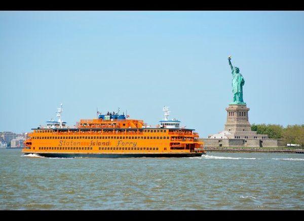 <em>Photo Credit: Christopher Penler / Shutterstock</em>  Enjoy a 25-minute trip from Manhattan to Staten Island via this <