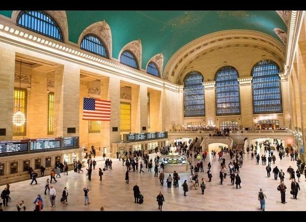 <em>Photo Credit: Victor Maschek / Shutterstock</em>  After officially opening its doors in 1913 (the terminal drew a crowd