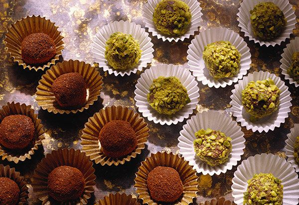 A tray of exquisite-looking truffles is something to behold: The small, rich chocolate treats are more special than regular c