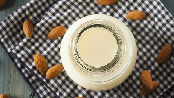 "Up to 14 grams of sugar  <br>(Unsweetened almond milk: 0 grams sugar)  <br><br> Source: <em><a href=""http://www.amazon.com/Su"
