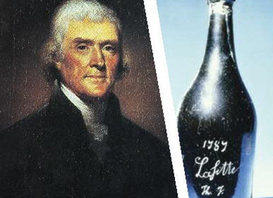 Thanks to time spent in France and Italy in the 1780s, Jefferson is still considered the principal wine authority to ever hol