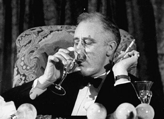 The repeal of Prohibition clearly warrants FDR the highest-ranking position in the pantheon of presidential drinkers. He had