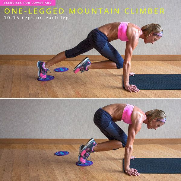 Start in a plank position with your right knee pulled into your chest. Keep the right knee completely stable so you have a co