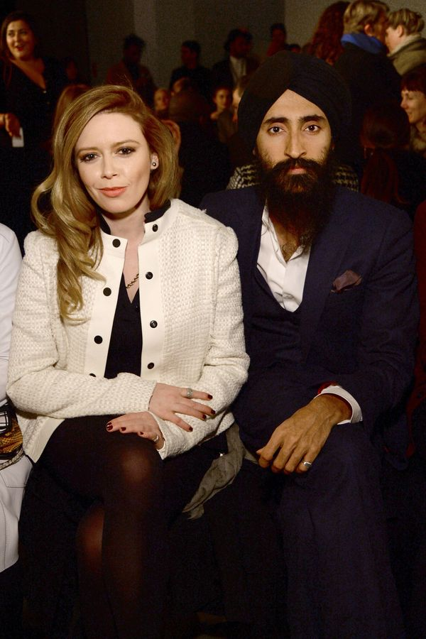 Natasha Lyonne and Waris Ahluwalia attend the Proenza Schouler fashion show