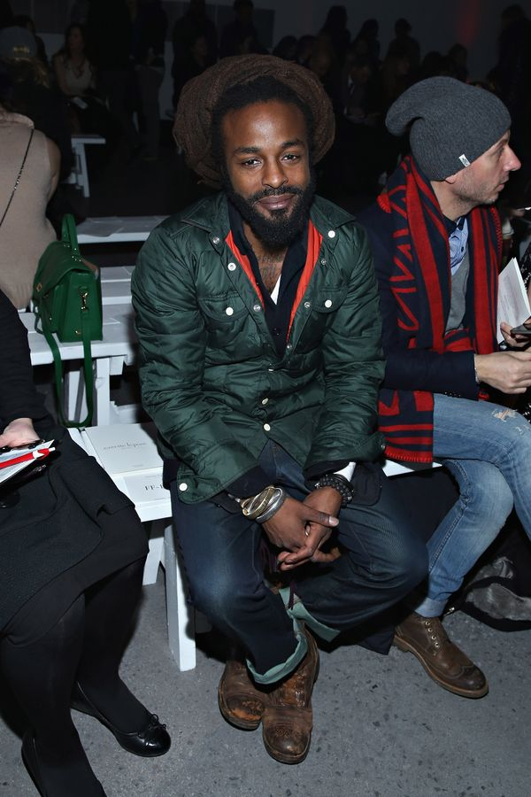 John Forte attends the Nanette Lepore fashion show