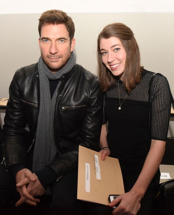 Dylan McDermott and his daughter Colette McDermott attend the Rag & Bone show