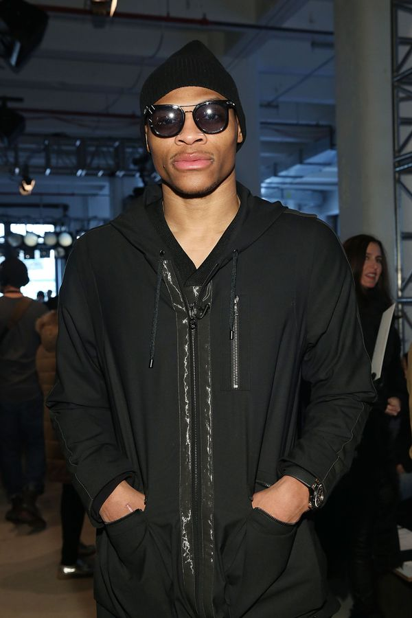 Russell Westbrook attends Public School runway show