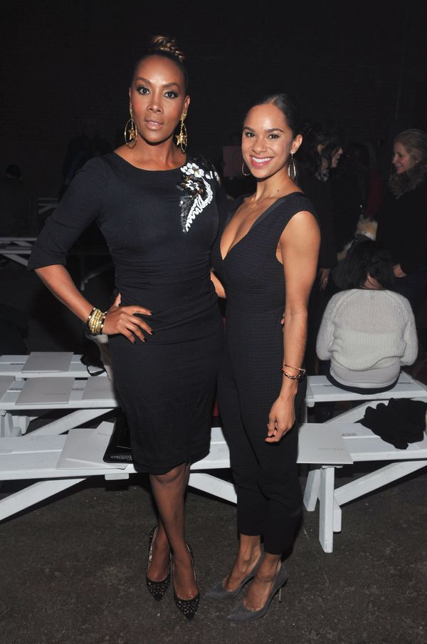 Vivica A. Fox and Misty Copeland attend the Tracy Reese fashion show