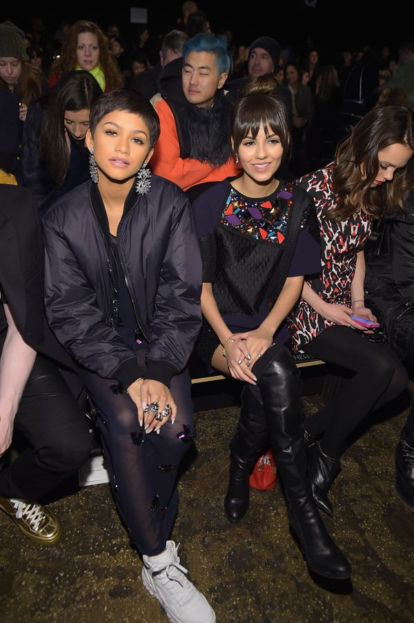 Zendaya and Victoria Justice at DKNY