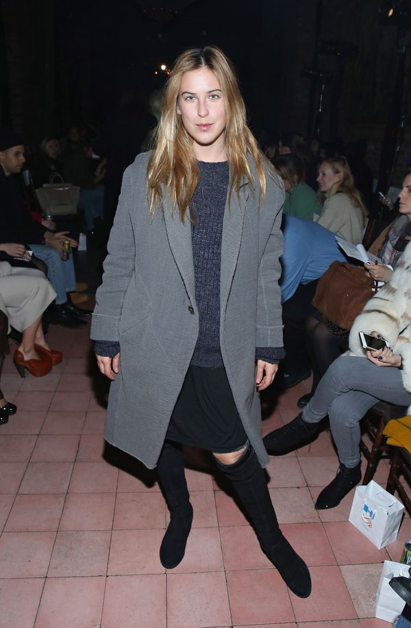 Scout Willis attends the Rodebjer fashion show