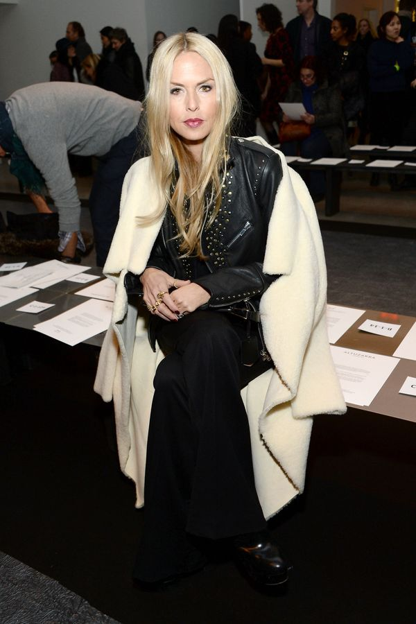 Rachel Zoe attends the Altuzarra fashion show