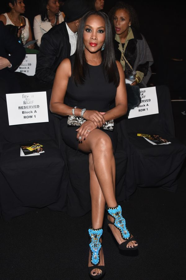 Vivica A. Fox attends Naomi Campbell's Fashion For Relief Charity Fashion Show