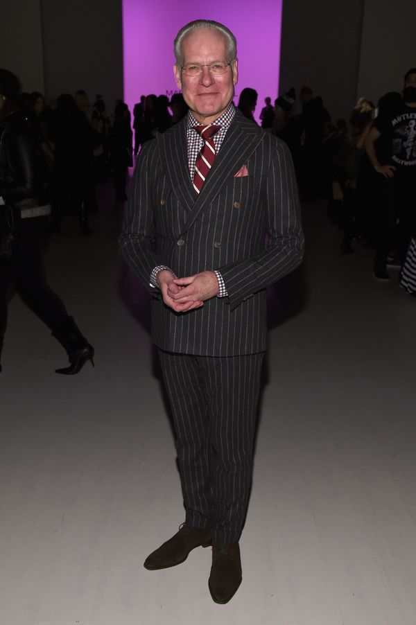 Tim Gunn attends the Mark And Estel fashion show
