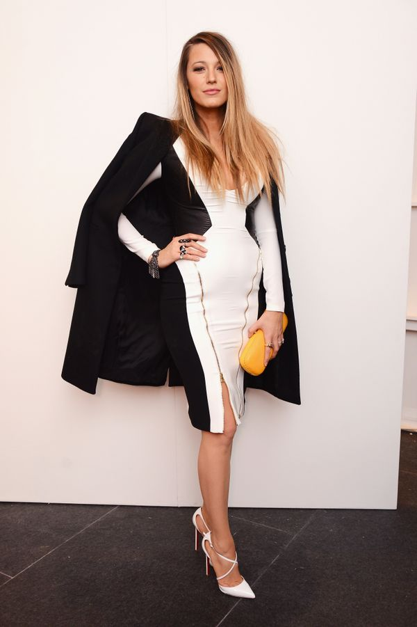 Blake Lively attends the Gabriela Cadena fashion show