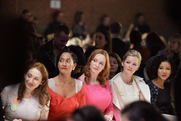 Regina Spektor, Tracee Ellis Ross, Christina Hendricks and Gretchen Mol at the Honor show