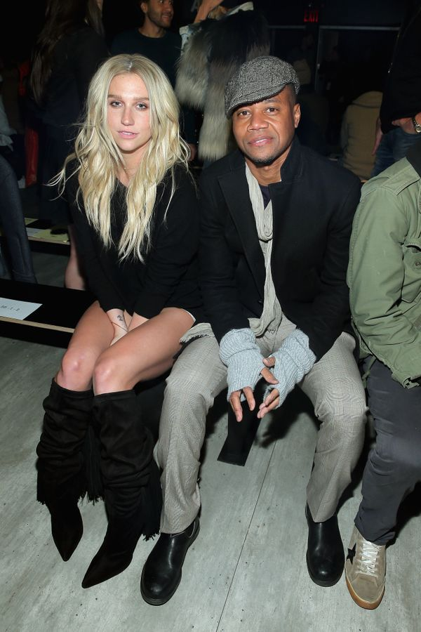 Kesha and Cuba Gooding, Jr. attend VFILES MADE FASHION show