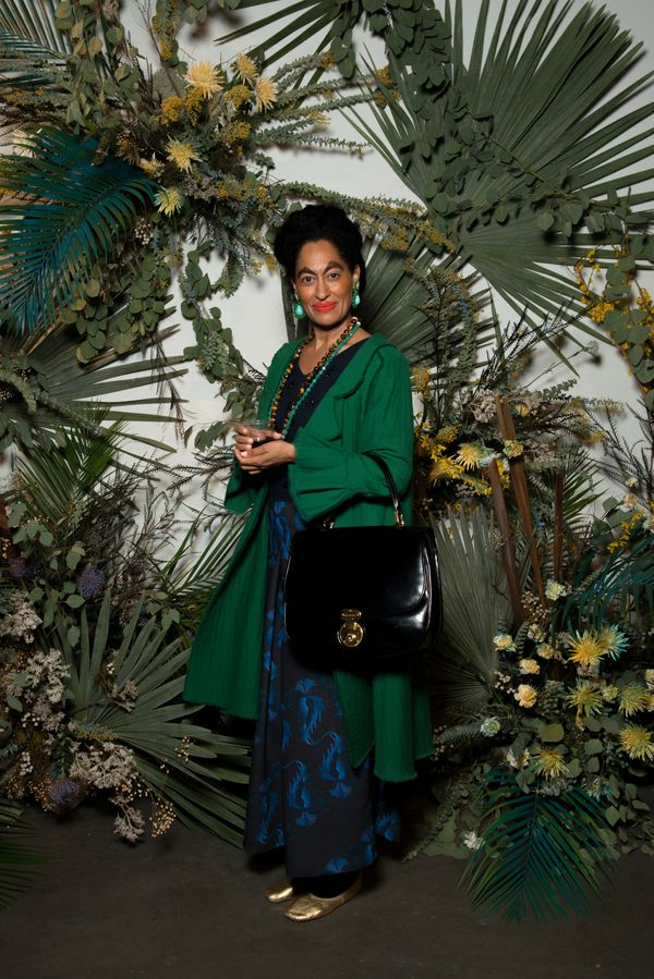 Tracee Ellis Ross (as her alter ego Madame Hiver) at the Rachel Comey show