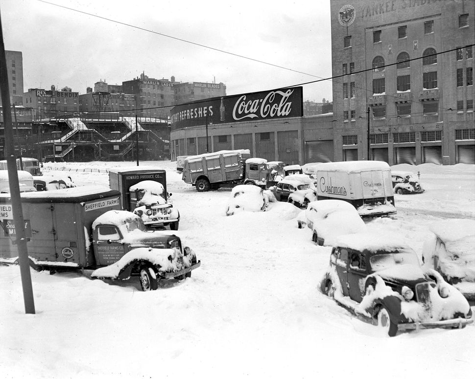 1947 Snowstorm in the Bronx.