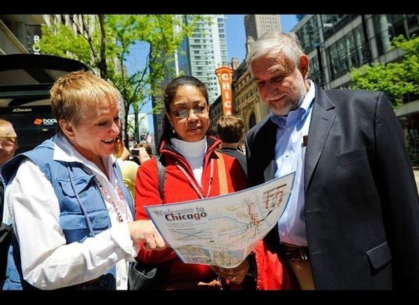 <em>Photo Credit: Courtesy of Choose Chicago / Chicago Greeter</em>  Learn about the Windy City from a local by taking a fr