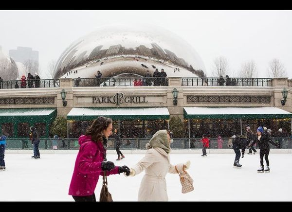 <em>Photo Credit: Adam Alexander Photography / Choose Chicago</em>  If you bring your own skates, you can head to the McCor