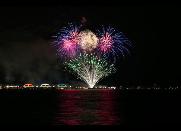 <em>Photo Credit: Adam Alexander Photography / Choose Chicago</em>  Fireworks aren't just for Fourth of July celebrations i