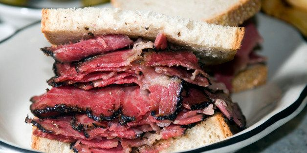 The Difference Between Corned Beef And Pastrami Huffpost Life